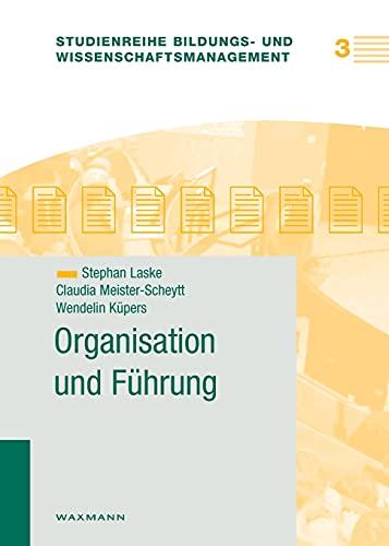 9783830915959: Organisation und Führung