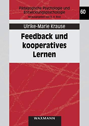 9783830918066: Feedback Und Kooperatives Lernen (German Edition)