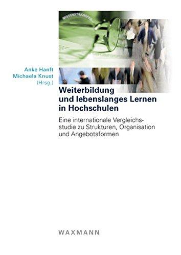9783830919155 Weiterbildung Und Lebenslanges Lernen In Hochschulen