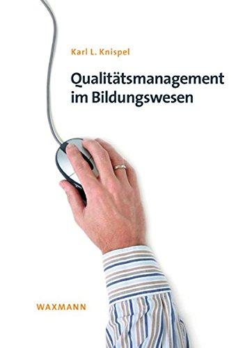 9783830919940: Qualit�tsmanagement im Bildungswesen