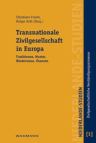 9783830921493: Transnationale Zivilgesellschaft in Europa: Traditionen, Muster, Hindernisse, Chancen