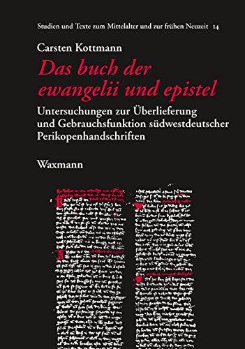 Das buch der ewangelii und epistel: Carsten Kottmann