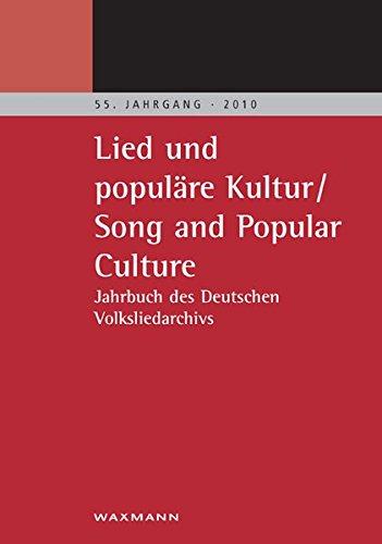 9783830923954: Lied und populäre Kultur - Song and Popular Culture