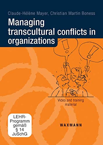 9783830926122: Managing Transcultural Conflicts in Organizations: Video and Training Material