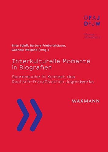 9783830928454: Interkulturelle Momente in Biografien