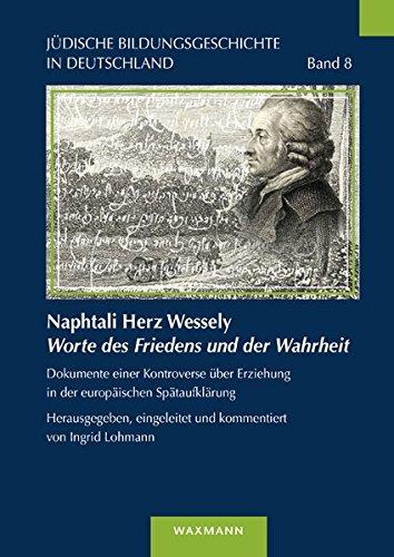 Naphtali Herz WesselyWorte des Friedens und der Wahrheit: Ingrid Lohmann