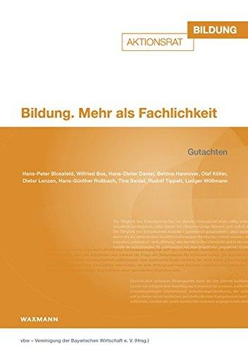 9783830932604: Bildung. Mehr als Fachlichkeit