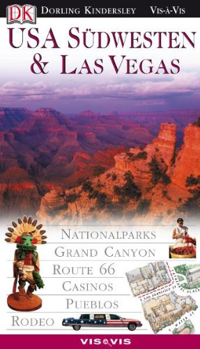9783831003228: USA Südwesten und Las Vegas. VIS a VIS: Nationalparks, Grand Canyon, Route 66, Casinos, Pueblos, Rodeo
