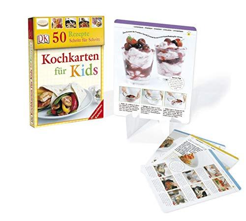 9783831011537: Kochkarten für Kids: 50 Rezepte Schritt für Schritt