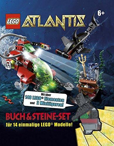 9783831016921: LEGO Atlantis Buch & Steine-Set