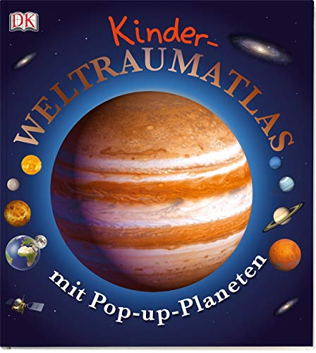 9783831017683: Kinder-Weltraumatlas mit Pop-up-Planeten