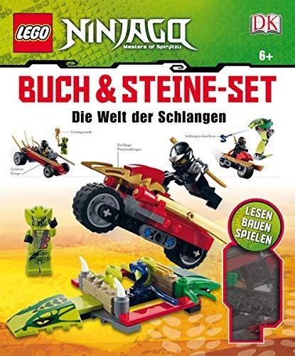 9783831020423: LEGO Ninjago Buch & Steine Set, m. Steine-Set (147 LEGO Elemente u. 2 Minifiguren): Die Welt der Schlangen