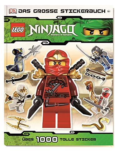 LEGO Ninjago: Das große Stickerbuch - über: Shari;Lanzarini Last