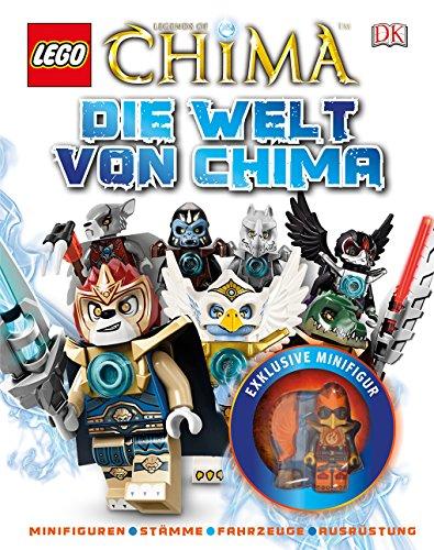 9783831024803: LEGO® Legends of Chima(TM). Die Welt von Chima: Minifiguren - Stämme - Fahrzeuge - Ausrüstung