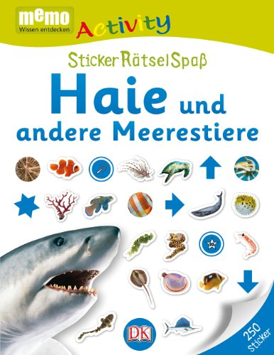 9783831026050: memo Activity. Haie und andere Meerestiere: StickerRätselSpaß