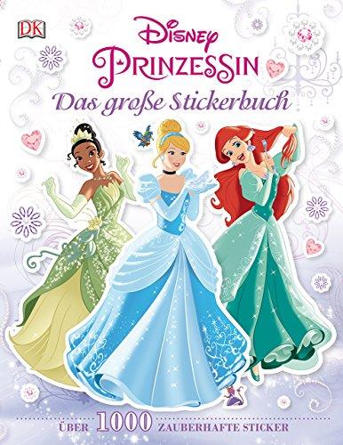 9783831028979: Disney Prinzessin. Das große Stickerbuch: Über 1.000 zauberhafte Sticker