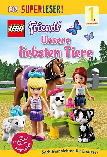 9783831029242: SUPERLESER! LEGO® FRIENDS Unsere liebsten Tiere: 1. Lesestufe Sach-Geschichten für Leseanfänger