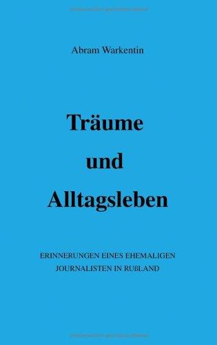 9783831100729: Träume und Alltagsleben.