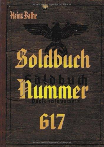 9783831111404: Soldbuch Nummer 617.
