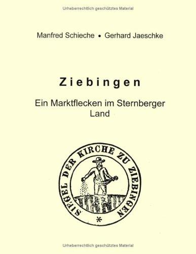 9783831120451: Ziebingen - Ein Marktflecken im Sternberger Land