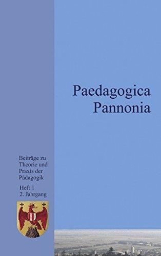 9783831125814: Paedagogica Pannonia.