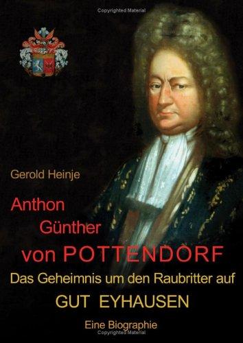 9783831127610: Anthon Günther von Pottendorf.