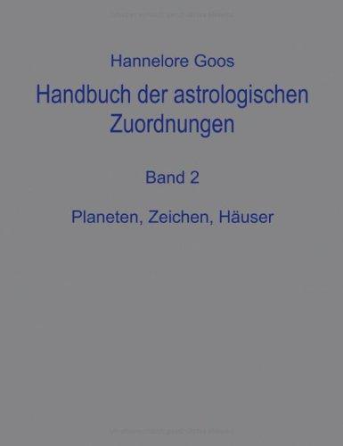 9783831133161: Handbuch der astrologischen Zuordnungen 2.