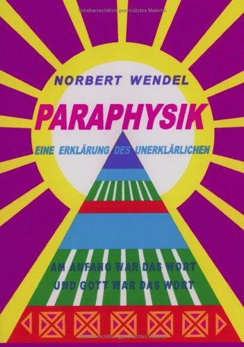 9783831133499: Paraphysik.