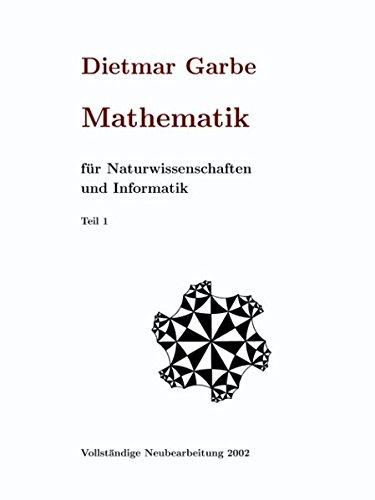 9783831136230: Mathematik für Naturwissenschaften und Informatik Teil I ( HardCover )