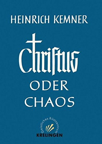 9783831146376: Christus oder Chaos.