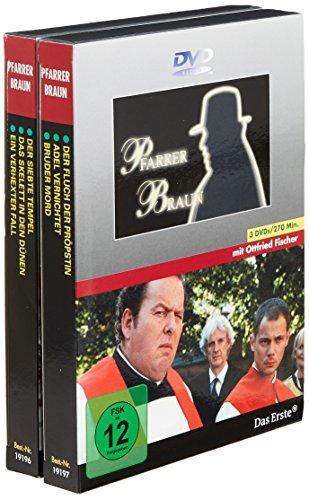 9783831292257: Pfarrer Braun Paket 1 + 2. 6 DVD-Videos: Der siebte Tempel / Das Skelett in den Dünen / Ein verhexter Fall / Der Fluch der Pröpstin / Bruder Mord / Adel vernichtet [Alemania]