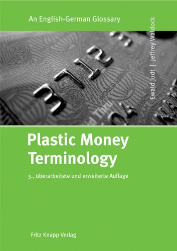 9783831407620: Plastic Money Terminology: An English-German Glossary