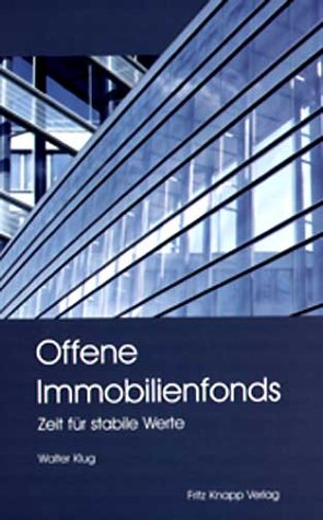 9783831407682: Offene Immobilienfonds