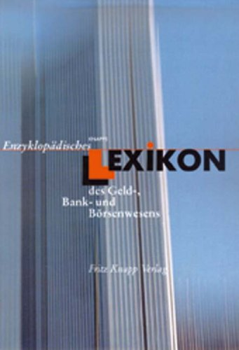 9783831408122: Lex./Geld-, Bank- u. Börsenwesens/CDR