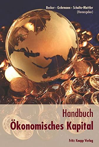 Handbuch Ökonomisches Kapital: Axel Becker