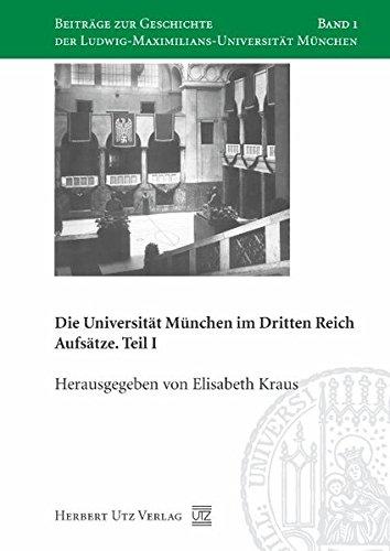 Die Universität München im Dritten Reich: Elisabeth Kraus