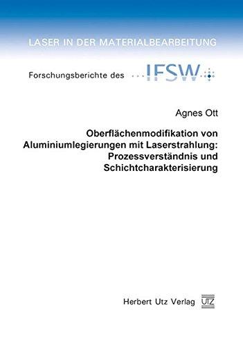 Oberflächenmodifikation von Aluminiumlegierungen mit Laserstrahlung: Prozessverständnis ...