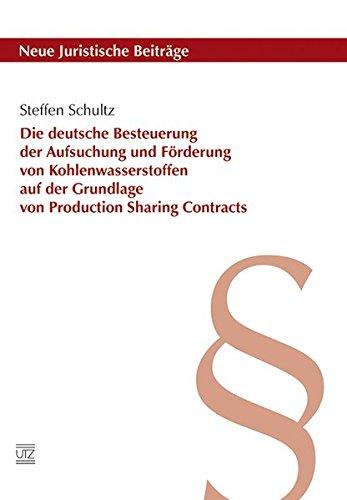 Die deutsche Besteuerung der Aufsuchung und Förderung von Kohlenwasserstoffen auf der ...