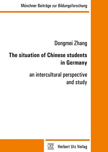 9783831644322: The situation of Chinese students in Germany