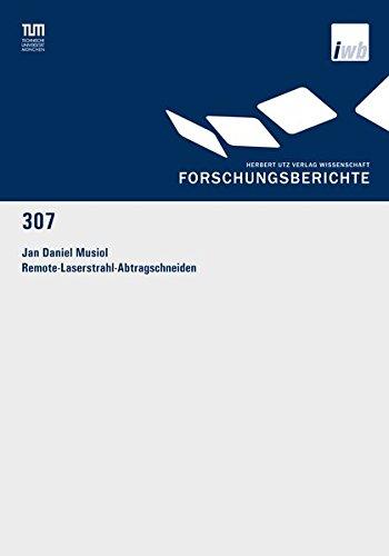 Remote-Laserstrahl-Abtragschneiden: Jan Daniel Musiol