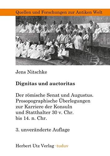 9783831681105: Dignitas und auctoritas