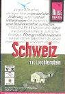 9783831712588: Schweiz mit Liechtenstein.