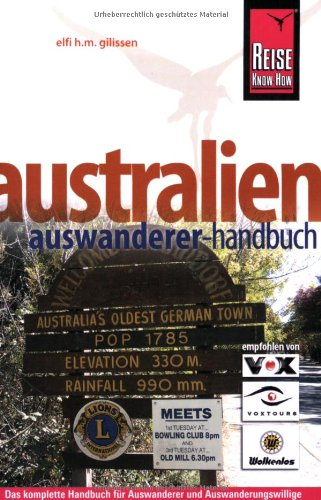 9783831714858: Australien - Auswanderer-Handbuch