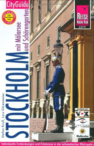 Stockholm mit Mälarsee und Schärengarten: CityGuide: Krull, Stefan, Dörenmeier,