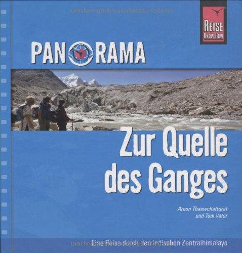9783831717026: Zur Quelle des Ganges: Panorama-Bildband