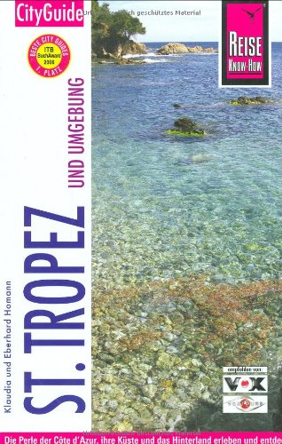 9783831717354: St.Tropez und Umgebung. City Guide