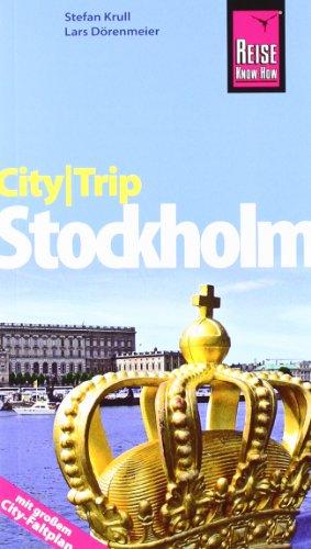 CityTrip Stockholm: Reiseführer mit Faltplan: Dörenmeier, Lars, Krull,