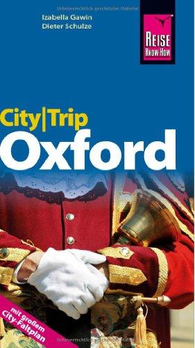 9783831721382: Reise Know-How CityTrip Oxford: Reiseführer mit Faltplan