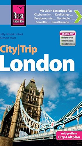 9783831725472: Reise Know-How CityTrip London: Reiseführer mit Faltplan und kostenloser Web-App