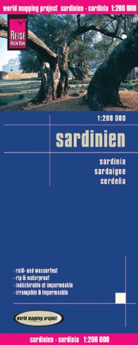 Reise Know-How Landkarte Sardinien (1:200.000) world mapping project - Verlag, Peter Rump